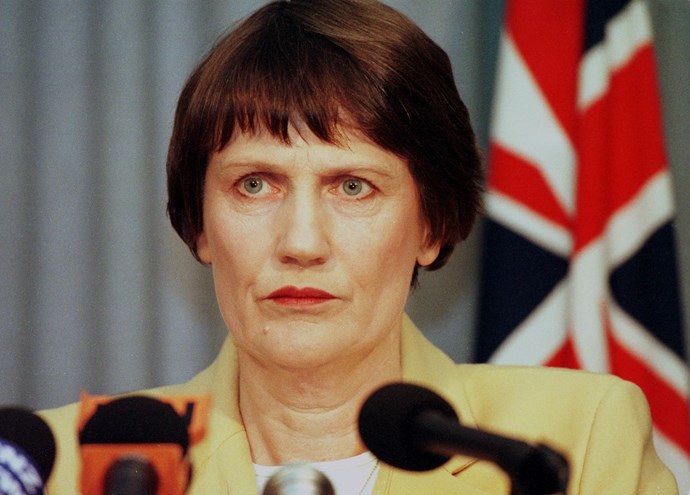 Helen Clark was Prime Minister of New Zealand between 1999 and 2008.