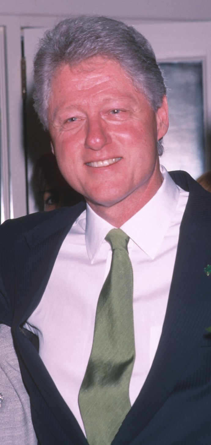 Bill left the White House after two terms in 2001.