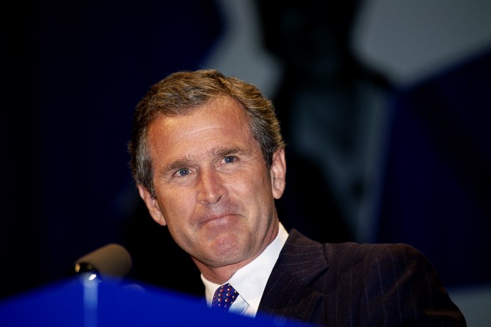 George W Bush was elected after Clinton, to become the 43rd President of the United States. He came from a political family, with both his father and grandfather having being politicians.