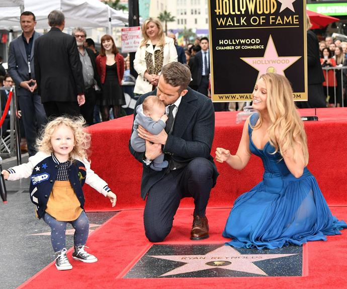 Eldest daughter James caused a bit of mischief at the star-studded event!