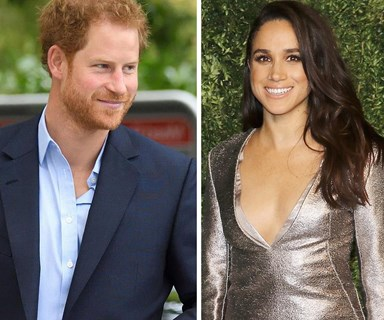 First pictures of Prince Harry with girlfriend Meghan Markle