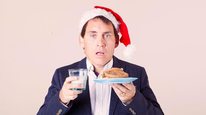 Jason Gunn is fizzing about Christmas