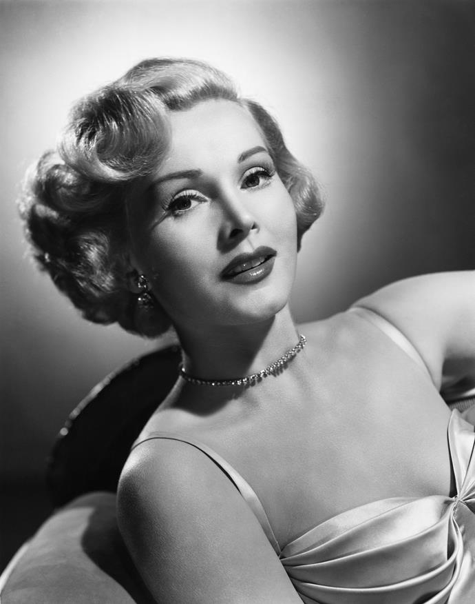 Zsa Zsa Gabor back in her heydey