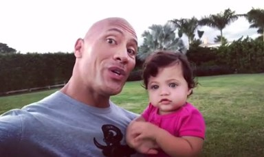Dwayne Johnson celebrates daughter's birthday in most adorable way