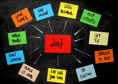 The New Year's resolutions Kiwis are making for 2017