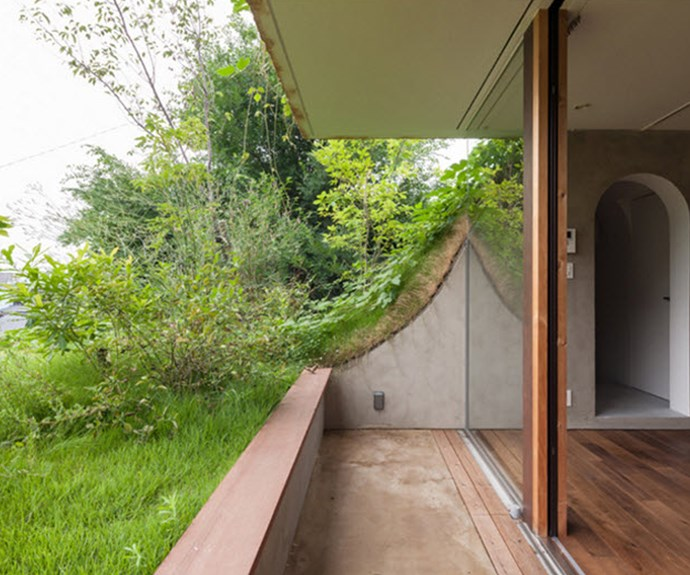 Open terraces create natural garden spaces. Photo: Courtesy of Keita Nagata Architectural Element