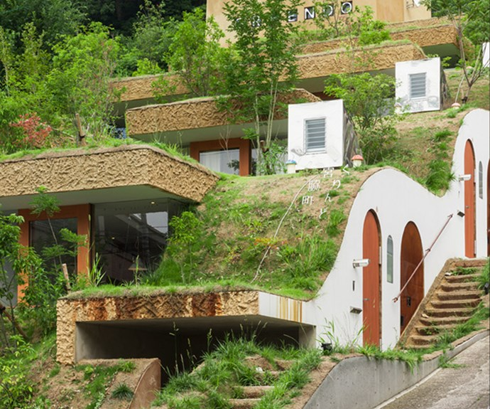 Each unit is slightly offset from the next. Photo: Courtesy of Keita Nagata Architectural Element