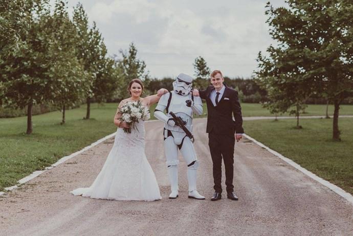 Star Wars Wedding Hamilton
