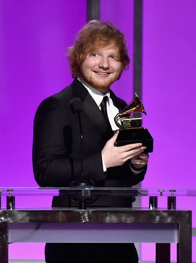 Ed Sheeran 'overwhelmed' as comeback breaks records
