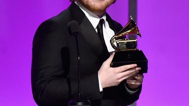 Ed Sheeran 'overwhelmed' as comeback breaks records