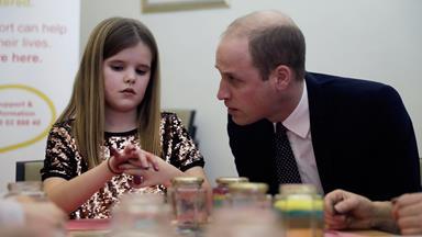 Prince William reveals anger over Princess Diana's death