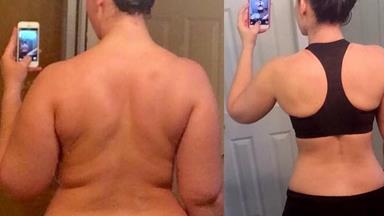 Woman loses 30kg by making one simple change