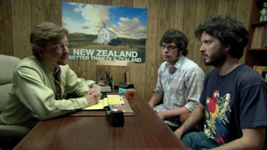 Rhys Darby addresses Flight of the Conchords movie rumours