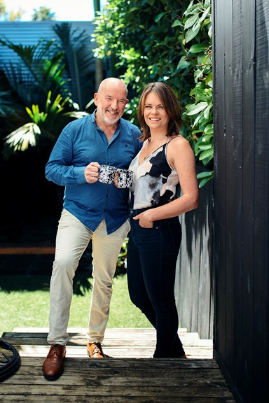 Heather du Plessis-Allan and Barry Soper on working together and starting a family
