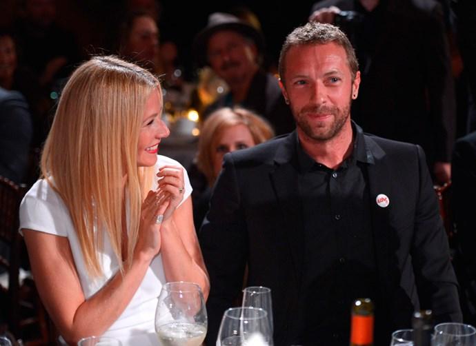 Gwyneth and Chris in 2014