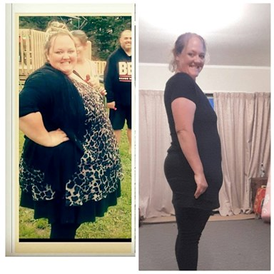Mangawhai mum-of-one shares her incredible 84kg weight loss journey