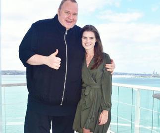 Kim Dotcom confirms engagement to Auckland girlfriend