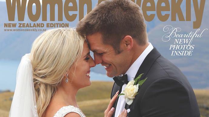 Richie McCaw and Gemma Flynn's wedding day revealed