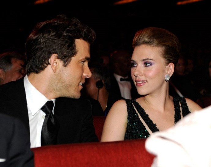 Scarlett was previously married to actor Ryan Reynolds
