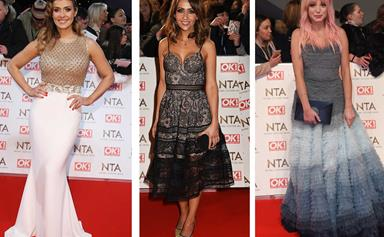 Coro, Poldark and Call the Midwife stars at the National TV Awards 2017