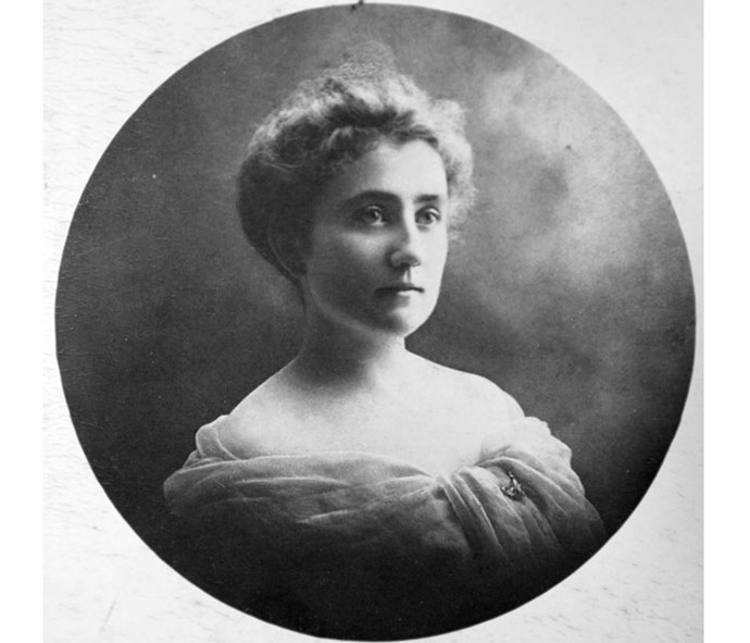A portrait of Linda, Barbara's mother.