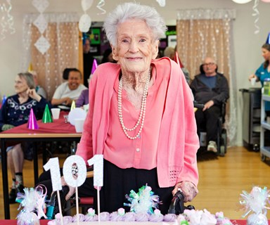 The secret to a long life, according to this 101-year-old