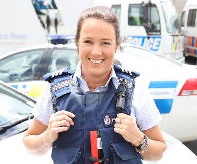 This is what it's like to be a female police officer in New Zealand