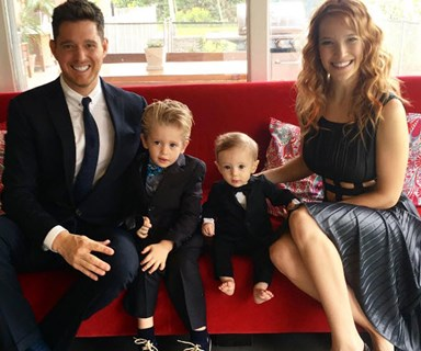 Michael Buble releases update on son's cancer treatment