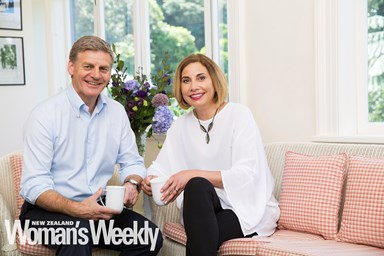 Prime Minister Bill English and wife Mary open up about love and leadership