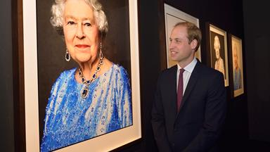 Queen Elizabeth celebrates Sapphire Jubilee with stunning portrait