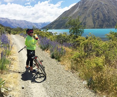 Mary Lambie tackles New Zealand's longest continuous cycle trail