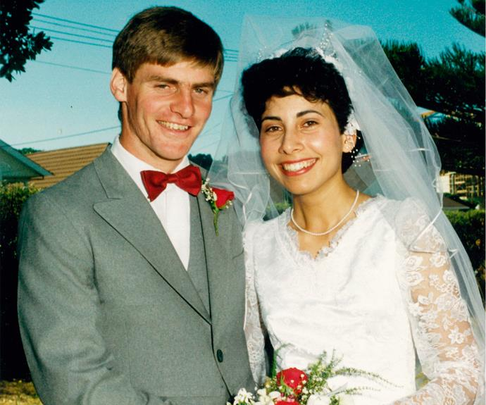 The happy couple, who met at an orientation ball as varsity students, married 30 years ago.