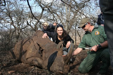 'I fight poachers to save endangered animals'