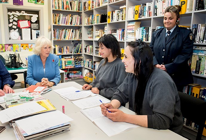 Camilla, Duchess of Cornwall visited Arohata Women's Prison in November, 2015.
