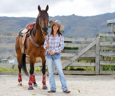 The Kiwi woman born to be a rodeo champ