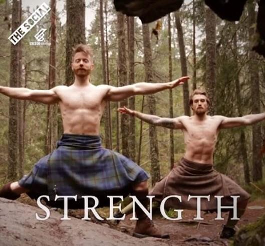 yoga in kilts