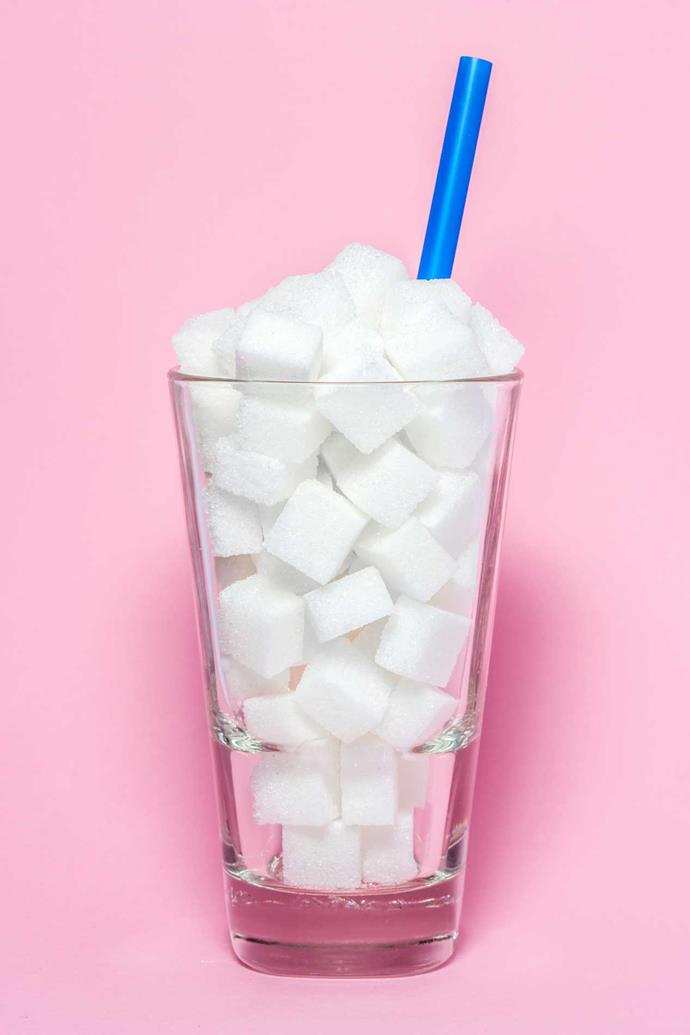 Fizzy drinks can contain more than a child's daily allowance of sugar in one sitting