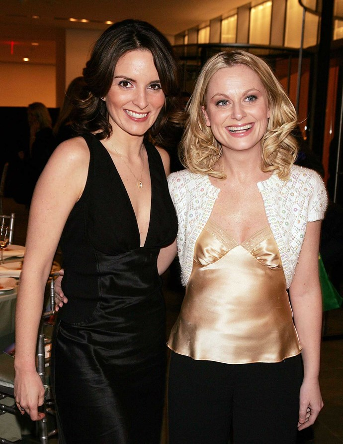 Comedic duo Tina Fey and Amy Poehler