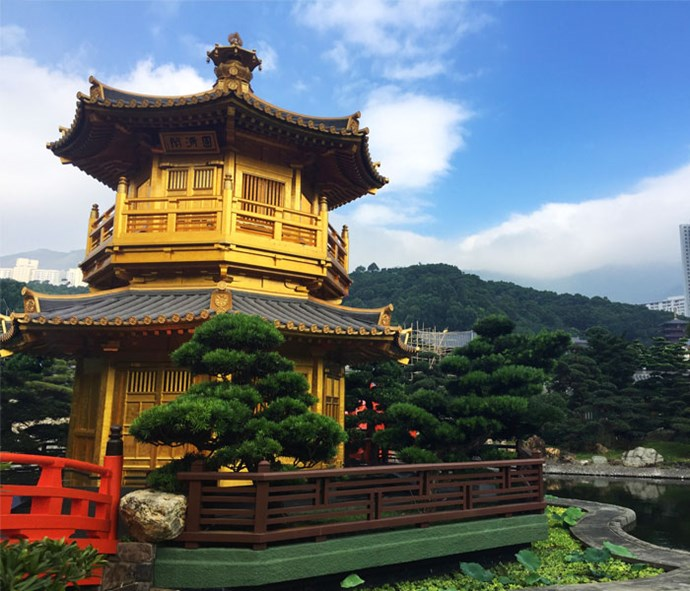 Step away from the bustle of the city and visit Nan Lian Garden.