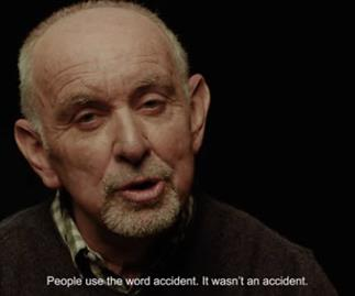 Road safety ad talks to real victims of thoughtless drivers