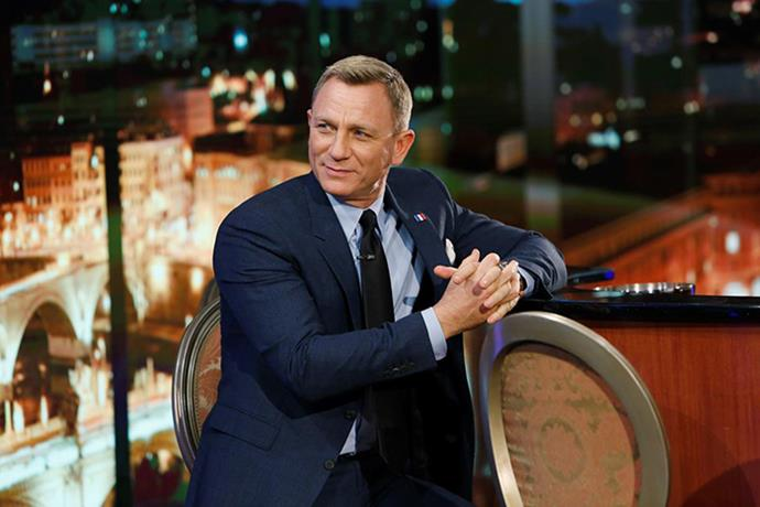 Daniel Craig on Jimmy Kimmel