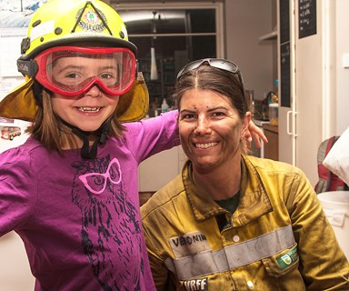 Port Hills fire: The woman firefighter making a difference on the ground