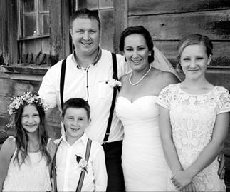 Wedding of the week: Mellissa and Robert Lamount