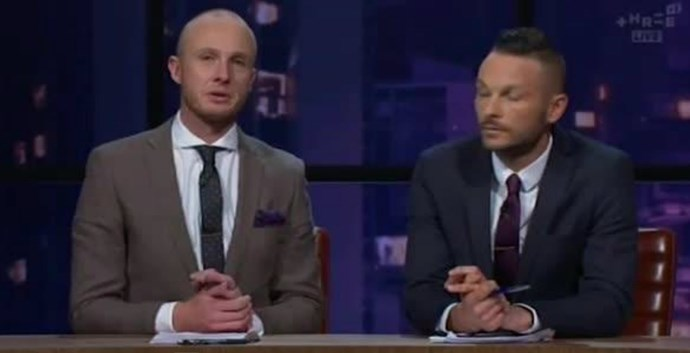 Tears on Jono and Ben over friend's death