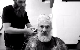Homeless to hipster: Dramatic transformation humanises those living on the street