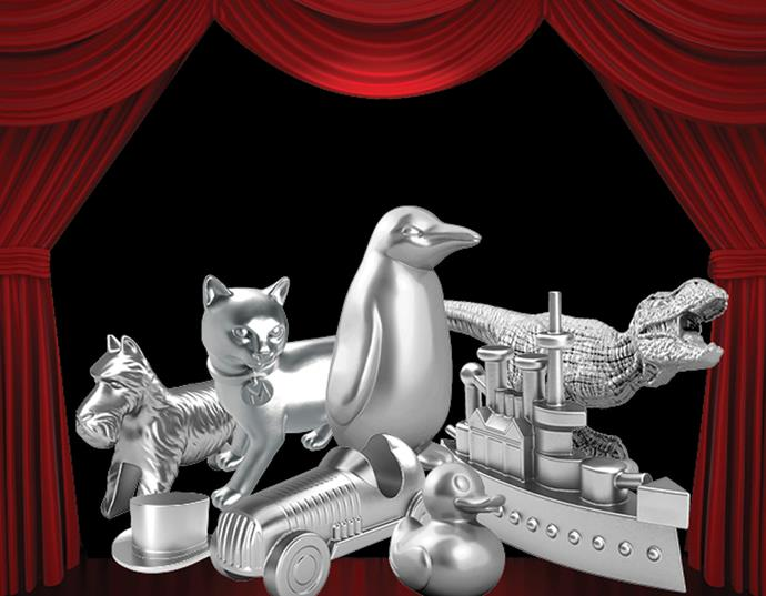 Monopoly reveals a first look at the tokens which made the cut. Photo: Supplied