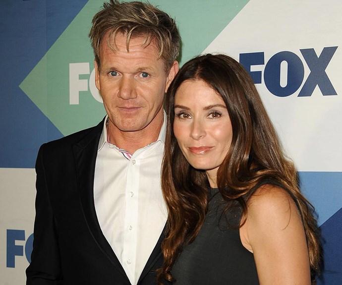 Gordon Ramsay and his wife Tana.