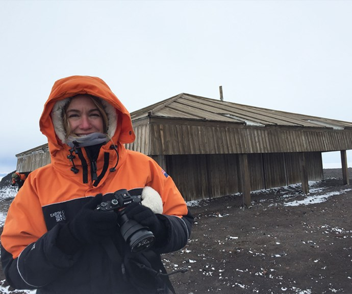 Adventurer Ashlan Cousteau joined New Zealand photographer Jane Ussher in documenting the historic Discovery Hut.