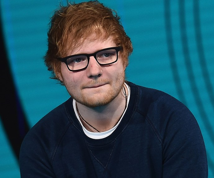 British singer Ed Sheeran