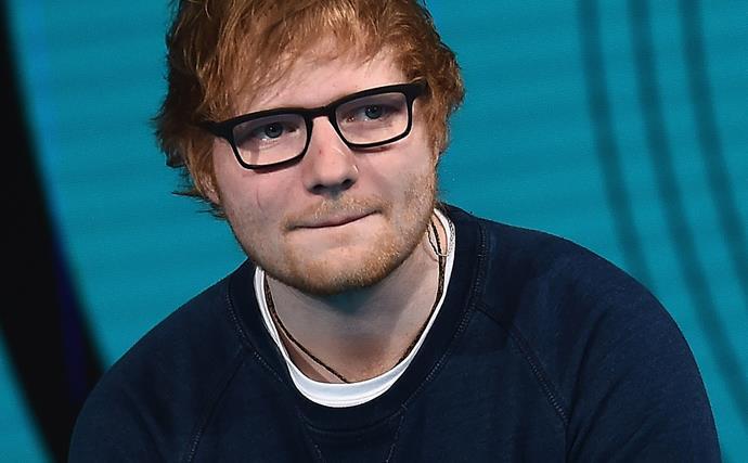 British singer Ed Sheeran